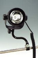 ATV Light w/ black steel tube